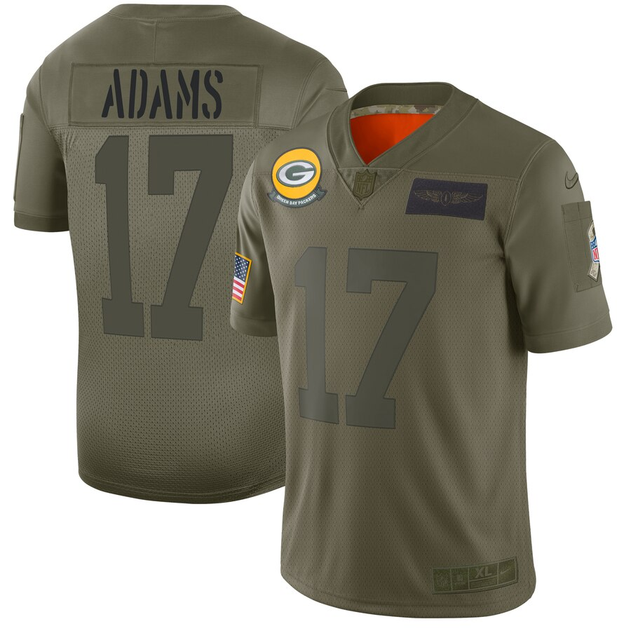 Nike Packers #17 Davante Adams Camo Men's Stitched jerseyschinaauthentic.com
